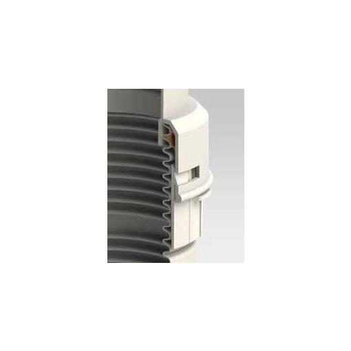 Tricox átalakító adapter merev-flex flexibilis kondenzációs kéményhez PP 80